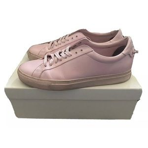 Givenchy Mens Low Top Pale Pink Sneakers Sz US 10